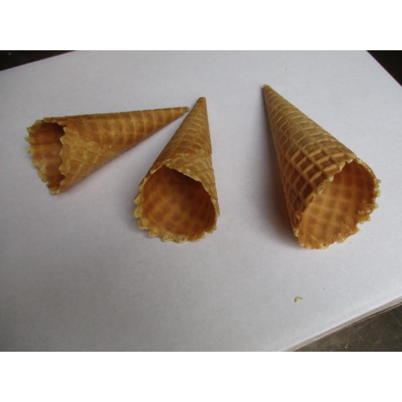 cornet gaufré pour glaces italiennes - grand- - Joelle Nicoletti ...